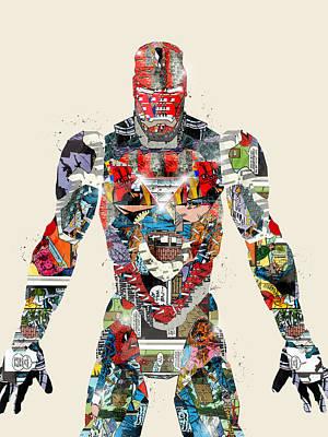 Modern Ironman Poster by Bri B