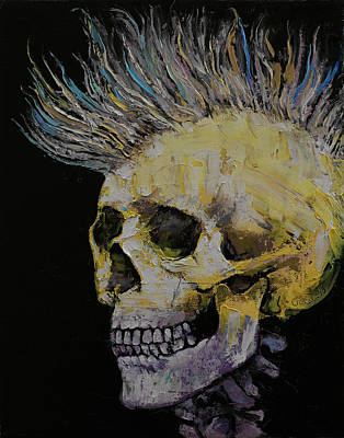Mohawk Poster by Michael Creese