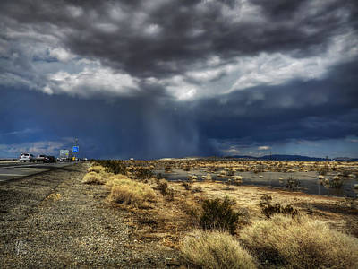 Mojave Hdr 021 Poster by Lance Vaughn