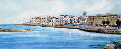 Mola Di Bari Poster by Leonardo Ruggieri