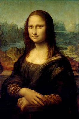 Mona Lisa - By Leonardo Da Vinci Poster by War Is Hell Store