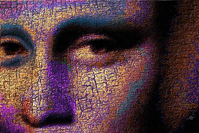 Mona Lisa Eyes 1 Poster by Tony Rubino