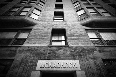 Monadnock Building Poster by Mike Burgquist