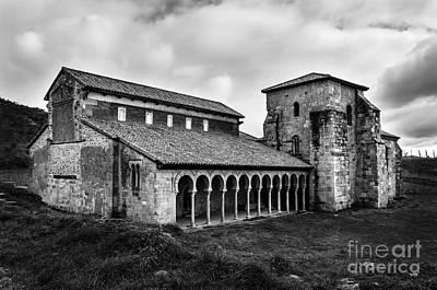 Monastery Of San Miguel De Escalada Bw Poster by RicardMN Photography