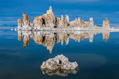 Mono Lake Reflections Poster by Joseph Smith