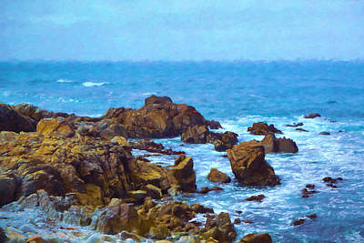 Monterey Coast Poster by Impressionist Art