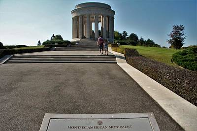 Poster featuring the photograph Montsec American Monument by Travel Pics