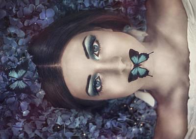 Moonlight Dance Poster by Antonia Glaskova