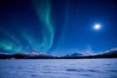 Moonlight Sonata Poster by Tor-Ivar Naess