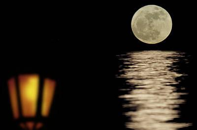 Moonshining Poster by Michael Mogensen