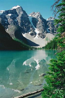 Moraine Lake 3 Poster by Shirley Sirois