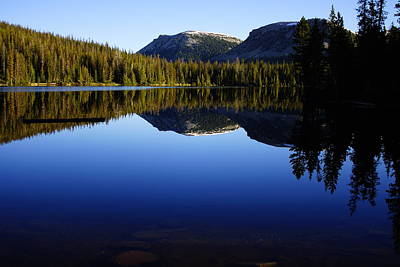 Morning Reflection At Mirror Lake Poster by James Mikkelsen
