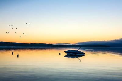 Morning Calm Poster by Todd Klassy