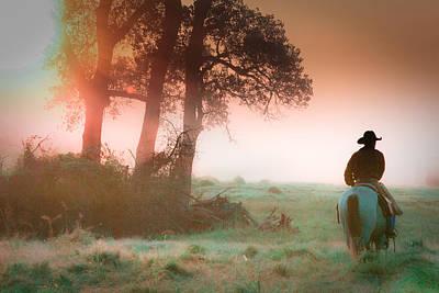 Morning Solitude Poster by Toni Hopper