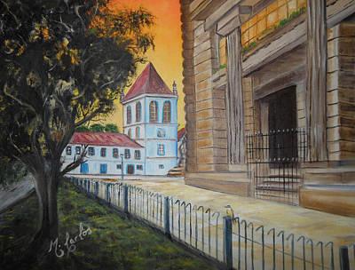 Mosteiro De Sao Bento Poster by Marcelo Carlos