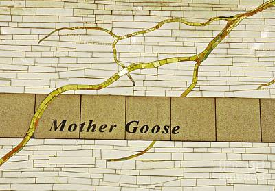 Mother Goose At The Root Of Culture Poster by Sarah Loft