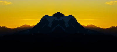 Mount Shuksan Sunrise Reflection Poster by Pelo Blanco Photo