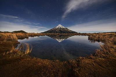 Mount Taranaki Poster by Yan Zhang