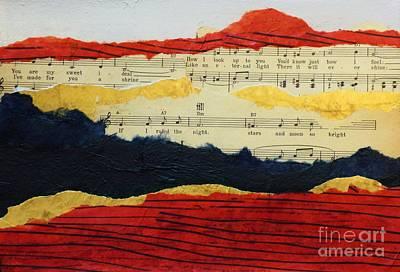 Mountain Serenade Poster by Sharon Eng