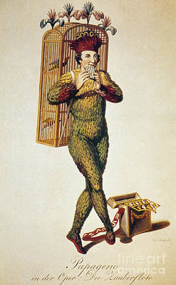 Mozart: Magic Flute, 1791 Poster by Granger