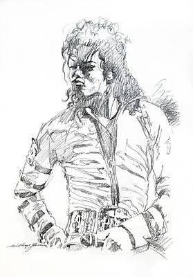 Mr. Jackson Poster by David Lloyd Glover