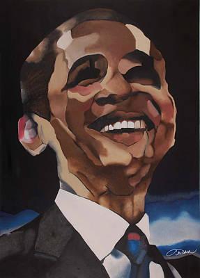Mr. Obama Poster by Chelsea VanHook