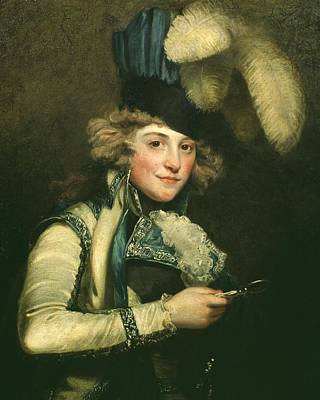 Mrs Jordan As Hypolita Poster by John Hoppner