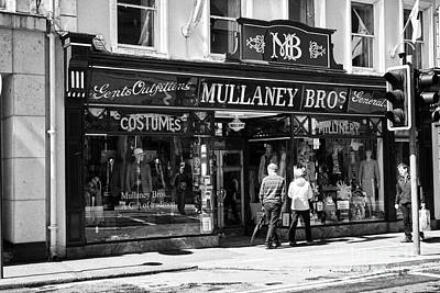 Mullaney Brothers Traditional Irish Gents Outfitters And General Store Sligo Republic Of Ireland Poster by Joe Fox