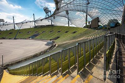 Munich - Olympic Stadium Poster by Juergen Klust