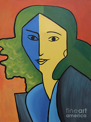 Muse For Matisse Poster by Barbara McMahon