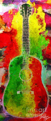 Music Colors Poster by Stefano Senise