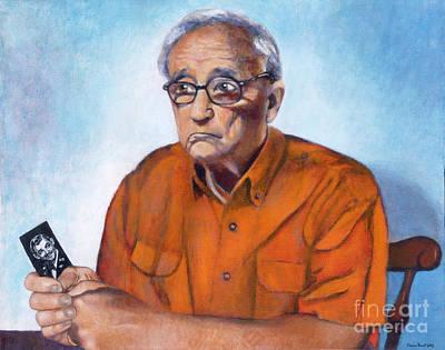 My Dad As Clark Gable Poster by Deanna Yildiz