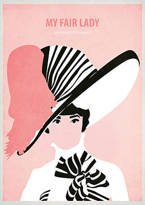 My Fair Lady Poster by Fraulein Fisher