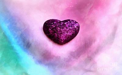 My Heart Belongs To You Poster by Krissy Katsimbras
