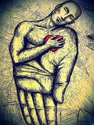 My Heart In Your Hand Poster by Paulo Zerbato