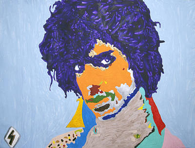 My Name Is Prince  Poster by Stormm Bradshaw