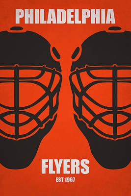 My Philadelphia Flyers Poster by Joe Hamilton