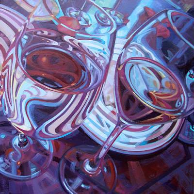 My Swanson Swirls Poster by Penelope Moore