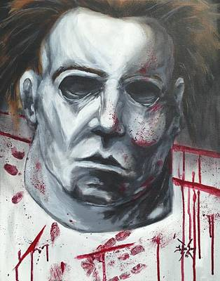 Myers Halloween Poster by Tyler Haddox