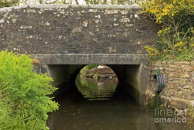Mylor Bridge In Springtime Poster by Terri Waters