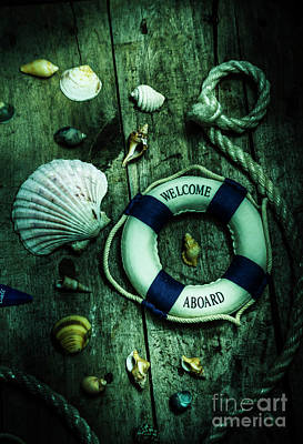 Mystery Aboard The Sunken Cruise Line Poster by Jorgo Photography - Wall Art Gallery