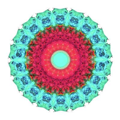 Mystic Circle Mandala - Sharon Cummings  Poster by Sharon Cummings