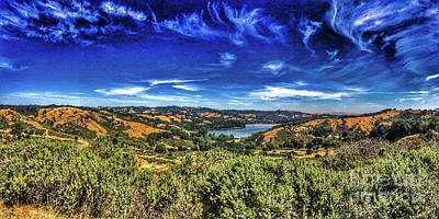 Mystical Lake Poster by M Croz