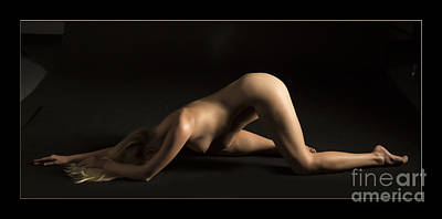 Nadia Fine Art Nude Photograph In Color 122.02 Poster by Kendree Miller