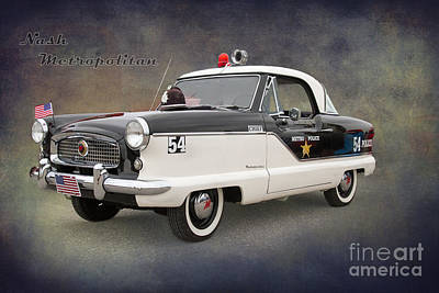 Nash Metropolitan By Darrell Hutto Poster by J Darrell Hutto