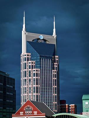 Nashville Landmarks Poster by Mountain Dreams