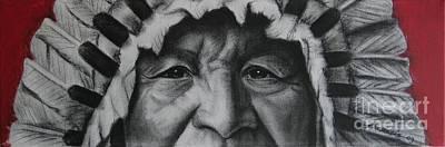 native Indian Poster by Anastasis  Anastasi
