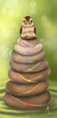 Natural Chakra Poster by Veronica Minozzi