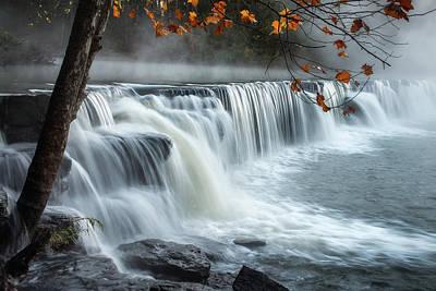 Natural Dam Falls Poster by James Barber