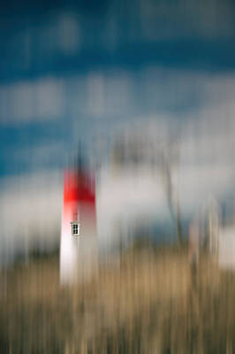 Nauset Lighthouse Window Abstract, Cape Cod Photograph, Large Wa Poster by Dapixara Art